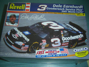 Details About Revell 3 Dale Earnhardt 2001 Goodwrench Monte Carlo 124 Scale Model Kit New