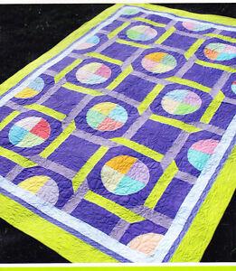CLEARANCE-Bedazzled-modern-pieced-amp-applique-quilt-PATTERN-Amanda-Murphy