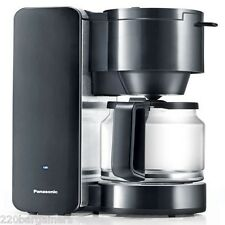 Panasonic 220 Volt NEW 8-Cup Coffee Maker 220v Overseas Voltage NC-DF1 Euro Cord