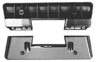 1960-67 PONTIAC FULLSIZE CHROME FRONT ARMREST BASES,PR