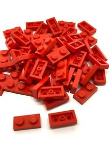 NEW LEGO Plate 1 x 2 Reddish Brown PACK OF 20-3023 FREE P/&P!