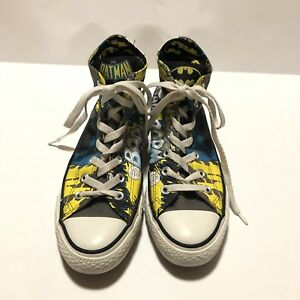 f400253d60a4 Converse All Star Chuck Taylor Batman Hig Top Sneaker Size 6 DC ...