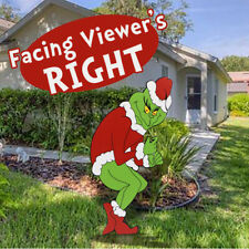 Right Facing Grinch Steals Christmas Yard Decoration Stealing Lights Fast Ships For Sale Online Ebay