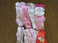 Preemie Baby Girl Clothes Lot
