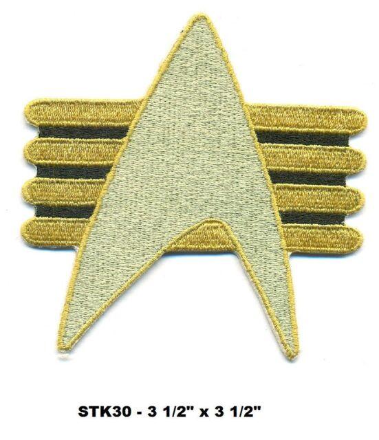 STAR TREK FUTURE IMPERFECT INSIGNIA PATCH - STK30