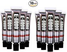 NEW!!! E6000 Industrial Strength Adhesive Glue .18 fl oz Minis Bulk Buy 10 PACK!