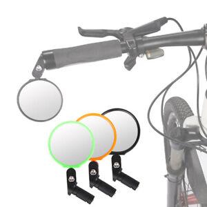 Kit 2x specchio specchietto specchi retrovisore bici bicicletta regolabile NERO