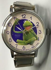 Kermit-The-Frog-Watch-Picco-17-Jewel-1980