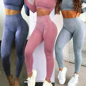Womens-High-Waisted-Yoga-Leggings-Ladies-Seamless-Sport-Gym-Pants-Jog-Trousers