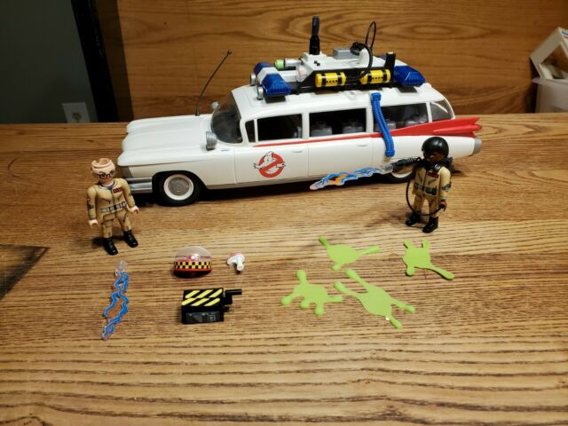 PLAYMOBIL Ghostbusters ECTO-1 Vehicle Car with Figures Lights Sounds works