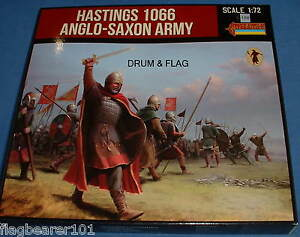 STRELETS-SET-912-HASTINGS-1066-ANGLO-SAXON-ARMY-1-72-SCALE