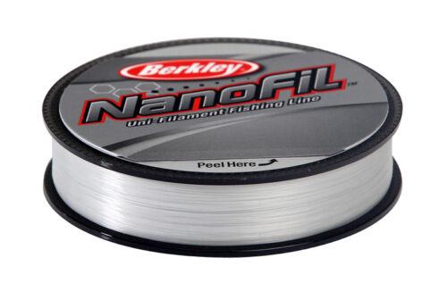 Berkley Nanofil Klar Nebel Linie Angelsport 125m/270m/ Alle Bruchstärken