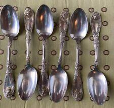 "La Vigne by 1881 Rogers Plate Silverplate Olive Spoon Pierced Custom Made 5 7//8/"""