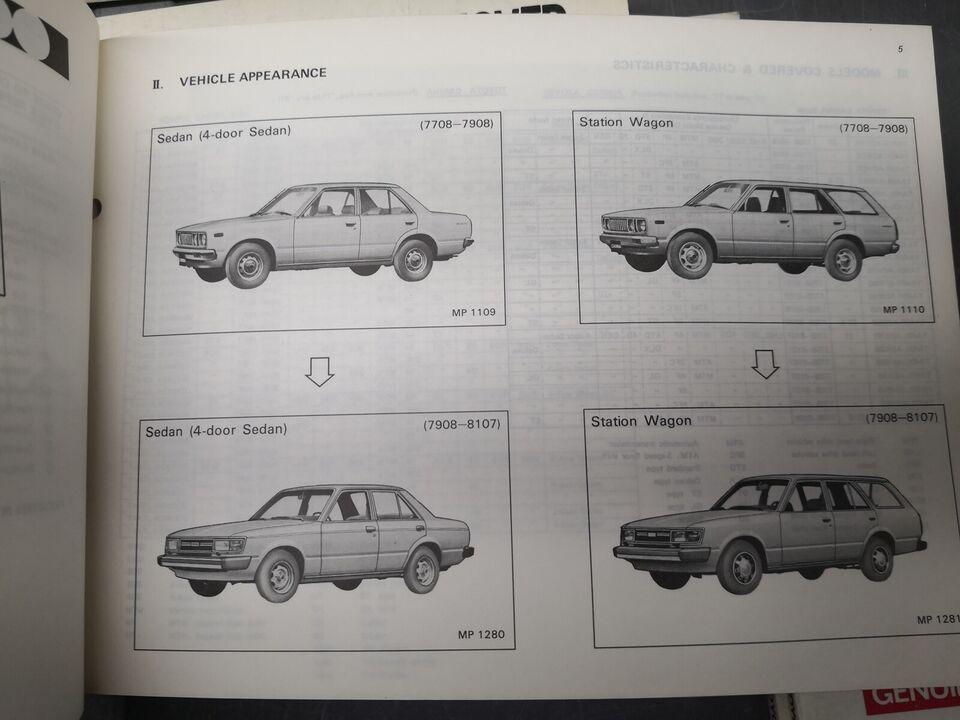 (58)Dele katalog Toyota, Toyota delekataloger