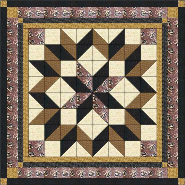 Quilt Kit//Roundabout//Neutral//Precut Ready to Sew