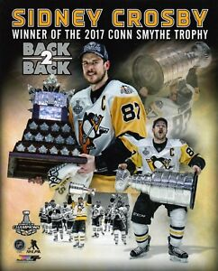 SIDNEY-CROSBY-PITTSBURGH-PENGUINS-BACK-2-BACK-UNSIGNED-8x10-Photo