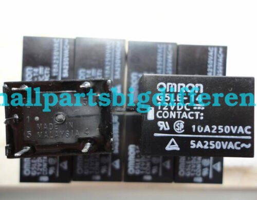 G5LE-14-12VDC Nuevo Genuino 5 PINES RELAY DC 12V al por mayor 20//50//100 un