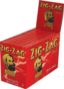 100xPks-of-Zig-Zag-Red-cigarette-papers-rizla-Full-Box