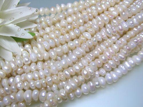 Vintage 6-8 mm x 4-5.5 mm bigger corn shape Japan freshwater pearl loose strand