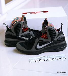 huge discount b2a27 81370 Image is loading Nike-Air-Lebron-9-IX-BHM-530962-001-