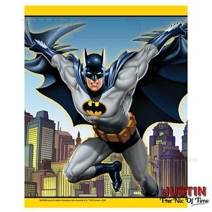 a67b9d38f La imagen se está cargando Suministros-de-Batman-Superheroe-Ninos-Cumpleanos -Fiesta-Favor-