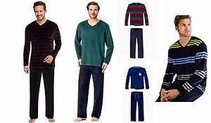 9286e0a512 Das Bild wird geladen Schiesser-Herren-Schlafanzug-Nicki-Jersey-Frottee -verschiedene-Modelle-