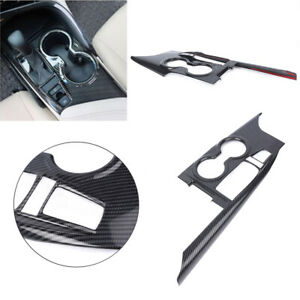Inner-Gear-Shift-Box-Panel-Cover-Trim-For-Toyota-Camry-2018-Car-Carbon-Fiber-ABS