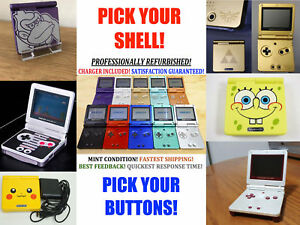 Nintendo-Game-Boy-Advance-GBA-SP-Advance-System-AGS-001-Pick-Shell-amp-Buttons