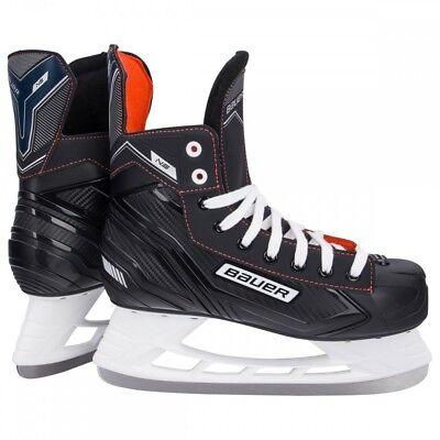 New Bauer Supreme S140 Kids Junior Ice Hockey Skates Black R Width rrp £70 Sale