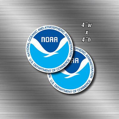 Best National Oceanic Atmospheric Sticker Decal Car Truck Window Wall US NOAA