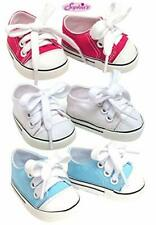 Hot Pink Tennis Sneakers 6 in Doll Clothes Fits Mini American Girl