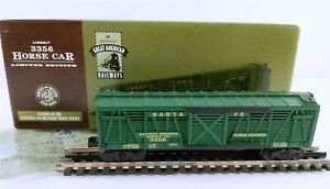 Lionel-3356-Santa-Fe-Horse-Car-Hallmark-Great-American-Railways-HO