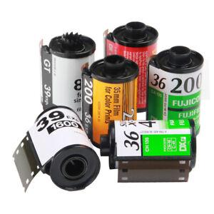 6x Assortiment Rechargeable Vide Boîtes Cassettes Pour Kodak Fuji 135 35 Mm Film-afficher Le Titre D'origine