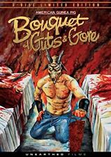 American Guinea Pig: Bouquet of Guts and Gore (DVD, 2015, 3-Disc Set, Limited Edition)