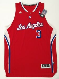 Détails sur Chris Paul Adidas Los Angeles Clippers Home Swingman Jersey Size XL