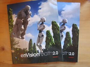 Details about enVision Math 2 0 Volume 1 & 2 Grade 8 Student Workbook  Common Core Pearson 2017