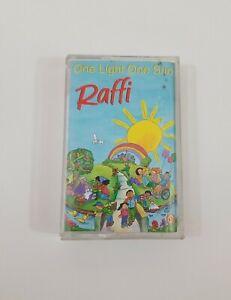 Raffi One Light One Sun Cassette 1985 Troubadour  Records
