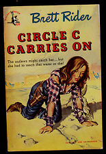 CIRCLE C CARRIES ON   BY BRETT RIDER  # 620  POCKET BOOK