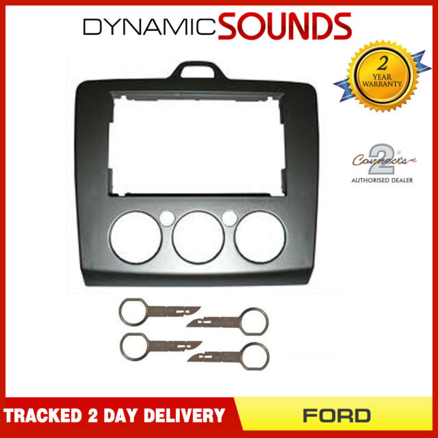 Autoleads DFP-07-17 Radioblende f/ür Ford Focus Silber 2 DIN
