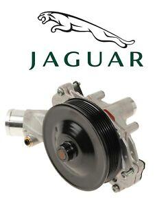 Engine Water Pump Genuine Jaguar AJ813909 For Jaguar F-Type XF XFR XJ XJR XK XKR