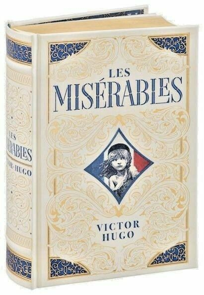 Les Miserables by Victor Hugo New Sealed Leather Bound Collectible Edition