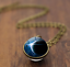 Solar-System-Pendants-Necklace-Galaxy-Planet-Necklace-S-Double-Sided-Glass-Dome thumbnail 17