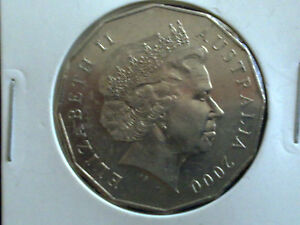 AUSTRALIAN-50-CENT-2000-VERY-FINE-CIRCULATED