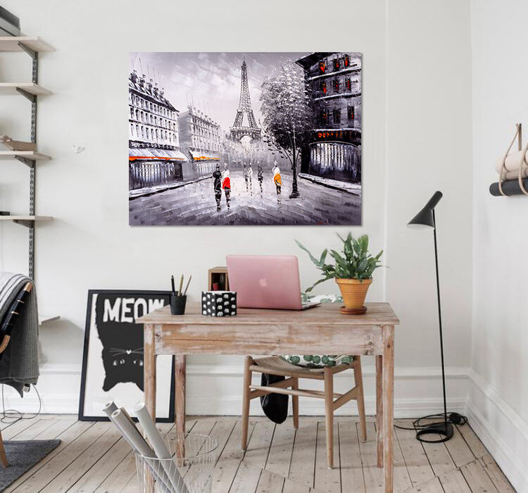 3D Mode Eiffelturm Strae 9760 Fototapeten Wandbild BildTapete AJSTORE DE Lemon