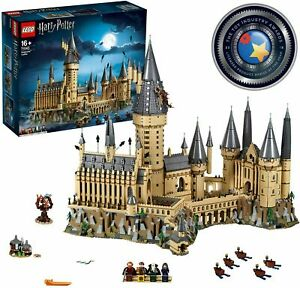 LEGO-Harry-Potter-Hogwarts-Castle-71043-Train-Ron-Hermione-BRAND-NEW-SEALED
