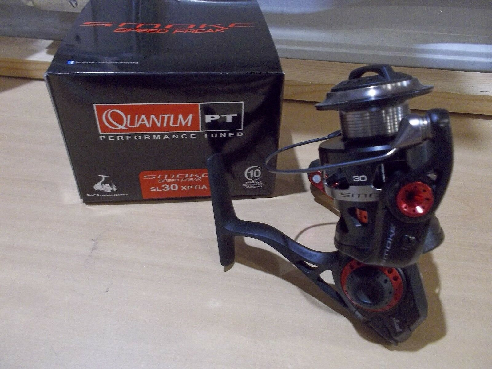Quantum Smoke Speed Freak SL30XPTiA spinning reel New in Box   just buy it