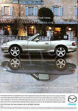 MAZDA MX-5 NEVADA Car ADVERT - 2003 Advertisement
