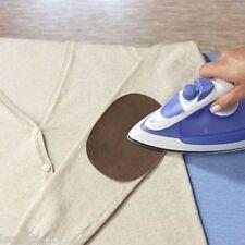 Aufbügelstoff braun  2er-Set Aufbügel-Stoff/Patches Reparaturset Bügelflicken