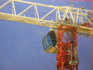 ROS-80100-4-Saez-55-TL-Tower-Crane-1-87-HO-Scale-Die-cast-Brand-new-MIB