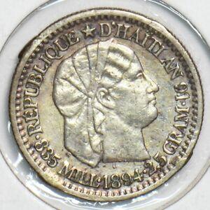 Haiti 1894 10 Centimes 298114 combine